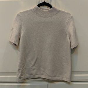 Loft - Cream Wool Sweater Shirt